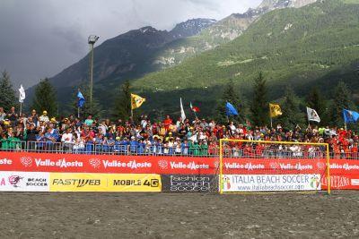 Gressan, Finale Italia-Francia